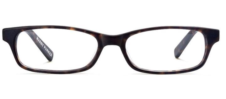 Warby Parker Eyeglasses - Langston In Whiskey Tortoise Matte