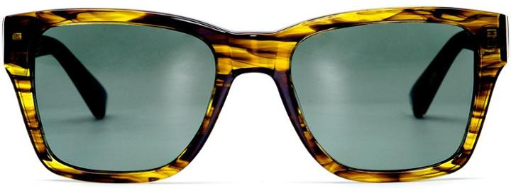 Warby Parker Sunglasses - Robinson In Olivewood