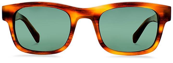 Warby Parker Sunglasses - Aldous In English Oak