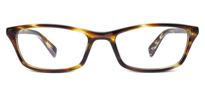 Warby Parker Eyeglasses - Annette In Striped Sassafras