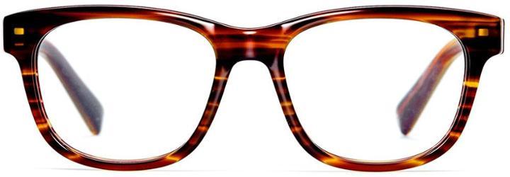 Warby Parker Eyeglasses - Sloan In Striped Chestnut