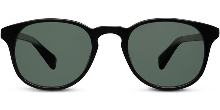 Warby Parker Sunglasses - Downing In Jet Black