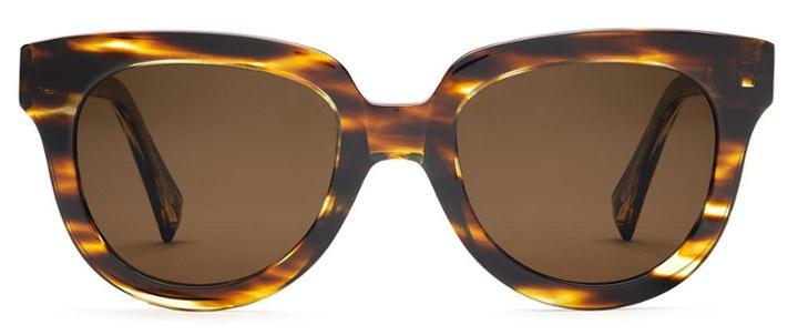Warby Parker Sunglasses - Banks In Striped Sassafras