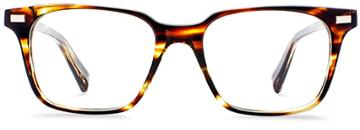 Warby Parker Eyeglasses - Baxter In Striped Sassafras