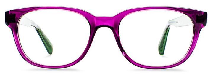 Warby Parker Eyeglasses - Ainsworth In Elderberry