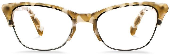Warby Parker Eyeglasses - Holcomb In Marbled Sandstone