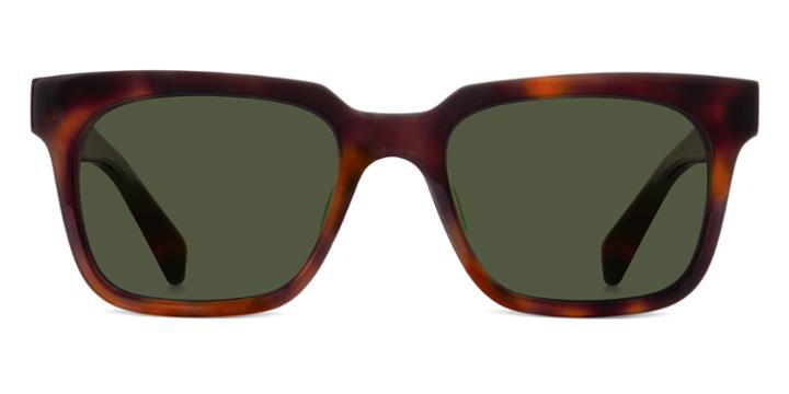 Warby Parker Sunglasses - Jackson In Woodgrain Tortoise