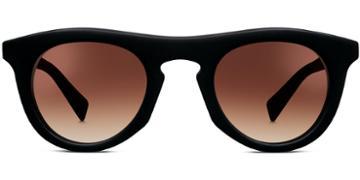 Warby Parker Sunglasses - Ketchum In Jet Black Matte