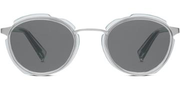 Warby Parker Eyeglasses - Grady In Crystal Aqua