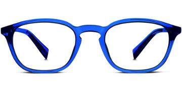 Warby Parker Eyeglasses - Burroughs In Marina Blue