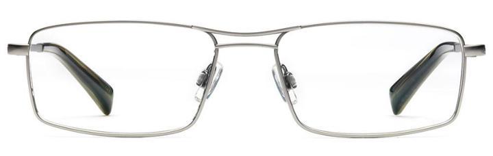Warby Parker Eyeglasses - Dixon In Jet Silver