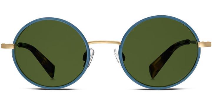 Warby Parker Sunglasses - Gellhorn In Blue Heron