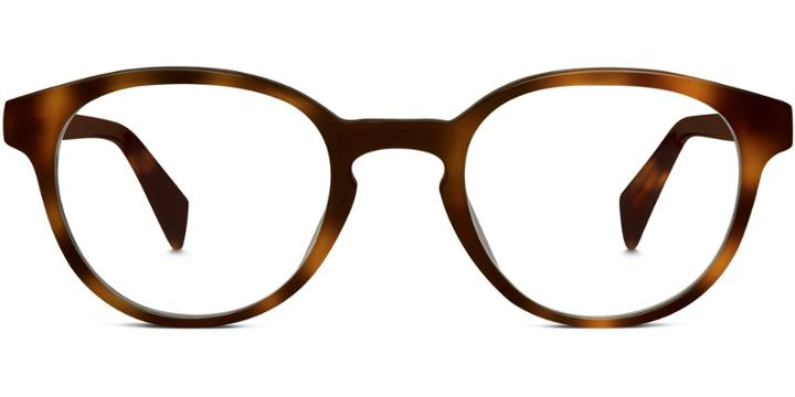 Warby Parker Eyeglasses - Percel In Oak Barrel