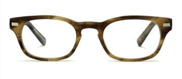 Warby Parker Eyeglasses - Miles In Sandalwood Matte