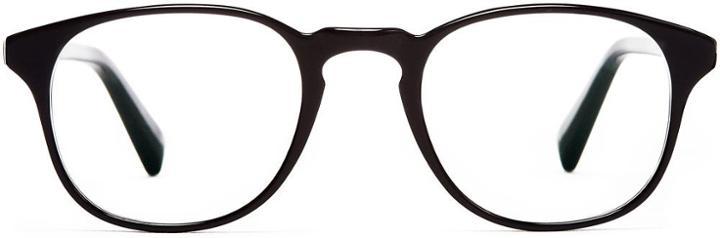 Warby Parker Eyeglasses - Downing In Jet Black