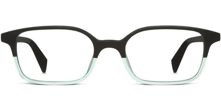 Warby Parker Eyeglasses - Colin In Teal Crystal Fade