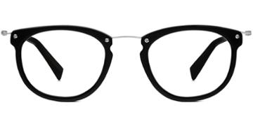 Warby Parker Eyeglasses - Moriarty In Jet Black Matte