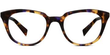 Warby Parker Eyeglasses - Chelsea In Violet Magnolia