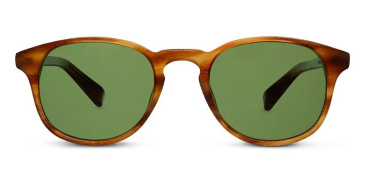Warby Parker Sunglasses - Downing In English Oak