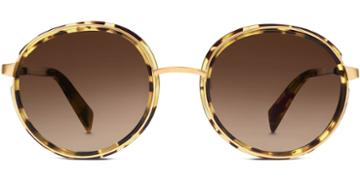 Warby Parker Sunglasses - Bonnie In Walnut Tortoise