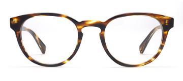 Warby Parker Percey Eyeglasses - Striped Sassafras