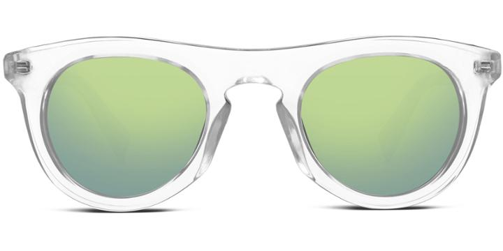 Warby Parker Sunglasses - Ketchum In Crystal
