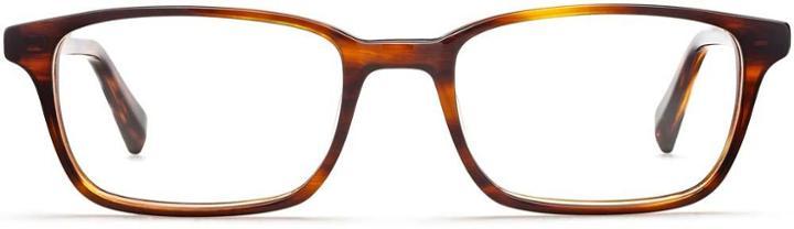 Warby Parker Eyeglasses - Wilkie In Sugar Maple