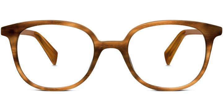 Warby Parker Eyeglasses - Dahl In English Oak