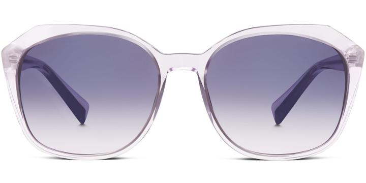 Warby Parker Sunglasses - Nancy In Lavender