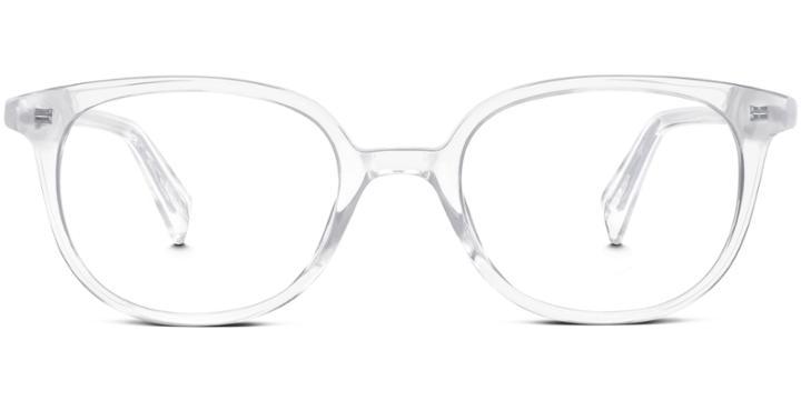Warby Parker Eyeglasses - Dahl In Crystal