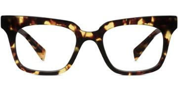 Warby Parker Eyeglasses - Casey In Burnt Lemon Tortoise
