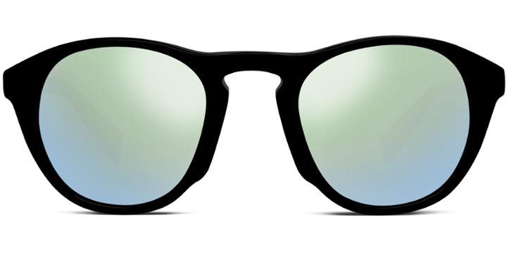 Warby Parker Sunglasses - Hammond In Jet Black