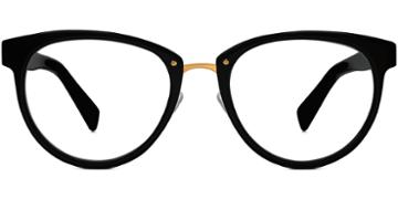 Warby Parker Eyeglasses - Tansley In Jet Black