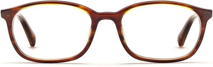 Warby Parker Eyeglasses - Ballard In Striped Chestnut