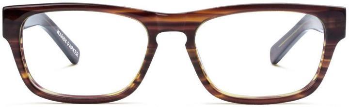 Warby Parker Eyeglasses - Roosevelt In Striped Chestnut