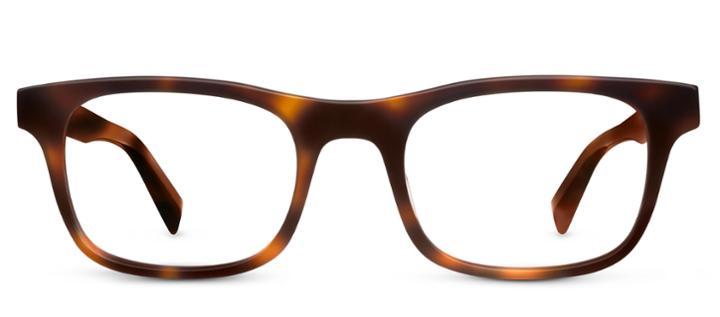 Warby Parker Eyeglasses - Orson In Oak Barrel
