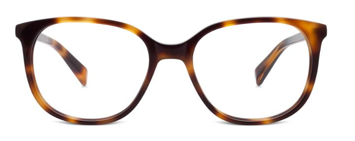 Warby Parker Eyeglasses - Laurel In Oak Barrel