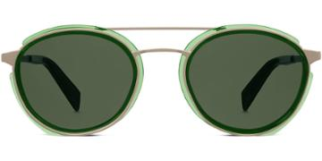 Warby Parker Sunglasses - Reed In Green Spruce