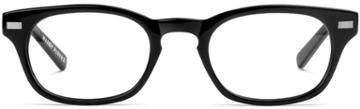 Warby Parker Eyeglasses - Miles In Jet Black
