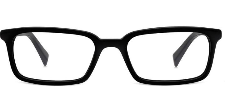 Warby Parker Eyeglasses - Verne In Jet Black
