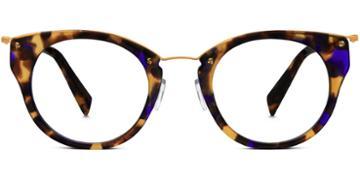Warby Parker Eyeglasses - Hadley In Violet Magnolia