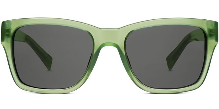 Warby Parker Sunglasses - Robinson In Crystal Fern