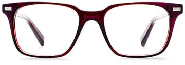 Warby Parker Eyeglasses - Baxter In Pinot Noir