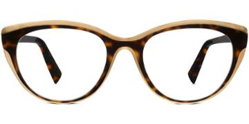 Warby Parker Eyeglasses - Ashby In Cognac Tortoise Melon