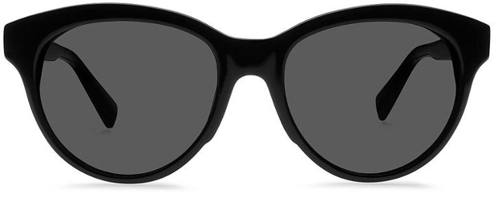 Warby Parker Sunglasses - Piper In Jet Black