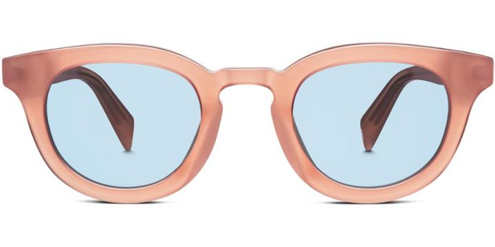 Warby Parker Sunglasses - Roland In Rose Guava