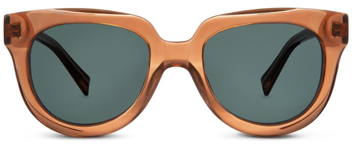 Warby Parker Sunglasses - Banks In Ginger Crystal