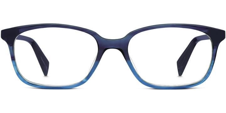 Warby Parker Eyeglasses - Windham In Blue Slate Fade