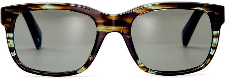 Warby Parker Sunglasses - Paley In Blue Marblewood