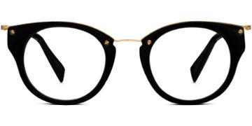 Warby Parker Eyeglasses - Hadley In Jet Black